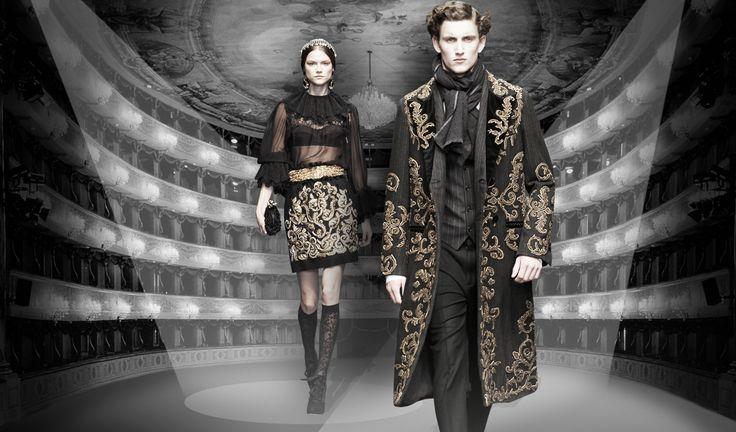 Le défilé de Dolce&Gabbana à La Scala