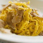 Recettes de truffes d'Alba : Le tajarin, les pâtes aux truffes à l'italienne