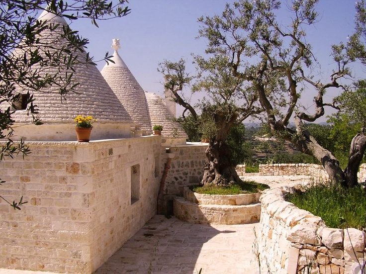 I trulli blog ville in for Ville in italia