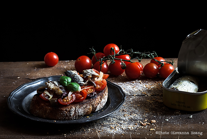 La recette originale italienne bruschetta marinara blog for Ville in italia
